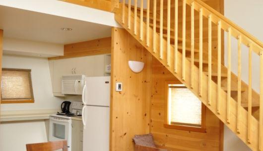 cuisine et salle à dîner - Chalet à trois chambres