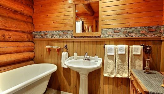 Salle de bain - Chalet Riverain