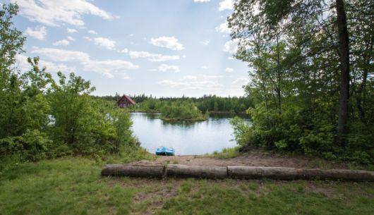 Accès au lac - Chalet Nordet