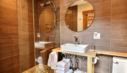 Salle de bain - Chalet Abénaki