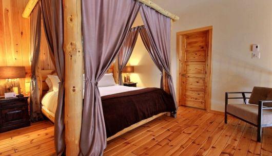 Chambre avec lit King - Chalet Inukshuk