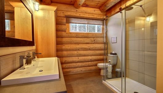 Salle de bain - Chalet Inukshuk