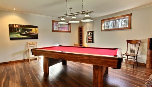 Table de billard - Chalet Godendard