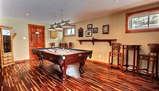 Table de billard - Chalet Sitelle