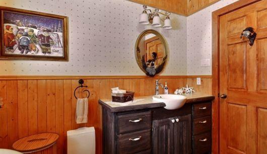 Salle de bain - Chalet TriskelSitelle