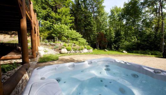 Spa privé - Chalet Sitelle
