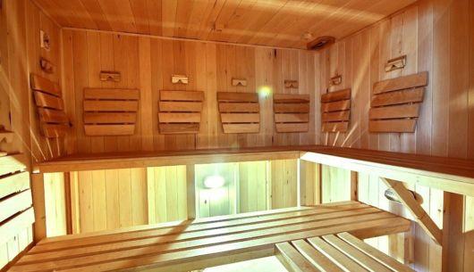 Sauna intérieur - Chalet Loutre