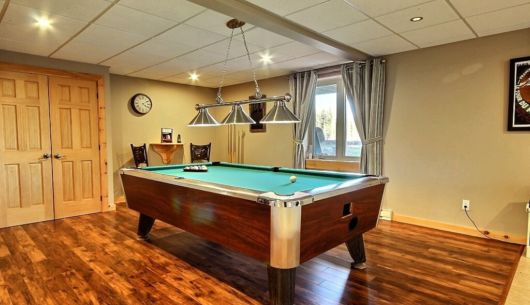 Table de billard - Chalet Marmottes