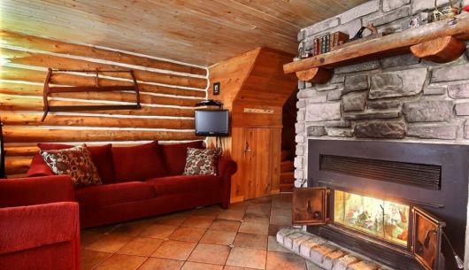 Foyer de pierre - Chalet Défricheur