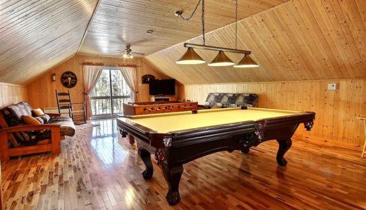 Table de billard - Chalet Nirvana