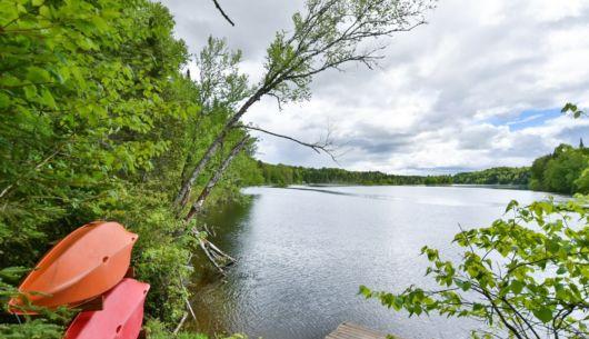 Rivière Sainte-Anne - Chalet Loup Blanc