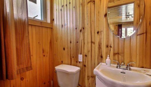 Salle de bain - Chalet Ours Noir