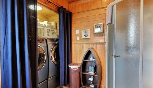 Salle de lavage - Chalet Odyssée