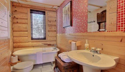 Salle de bain - Chalet Forestier