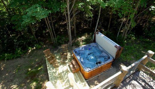 Spa privé - Chalet Forestier