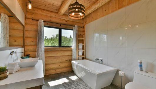 Salle de bain - Chalet Perséides
