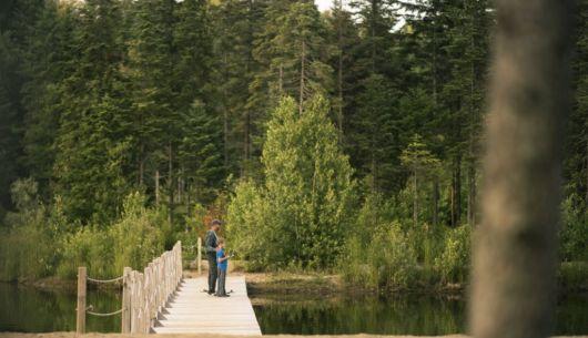Pêche dans notre lac ensemensé - Au Chalet en Bois Rond