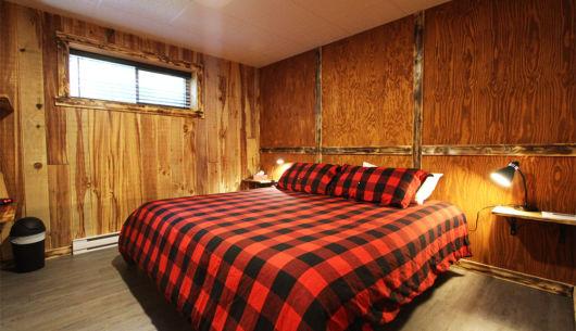 Chambre avec lit King - Chalet Légende