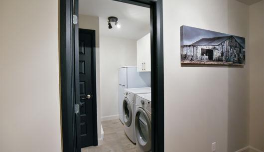 Salle de lavage - Chalet Panache