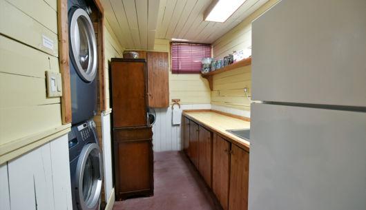 Salle de lavage - Chalet Huard