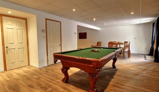 Table de billard - Chalet Loup Cervier