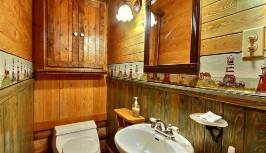 Salle de bain - Cottage Grand-Duc